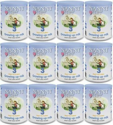 NANNYCare Stage 3 Growing Up Milk - 400g (Pack of 12)