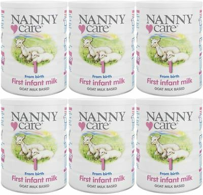 NANNYCare Stage 1 First Infant Milk - 900g (Pack of 6)