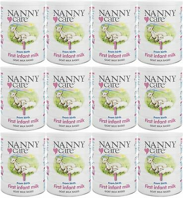 NANNYCare Stage 1 First Infant Milk - 900g (Pack of 12)
