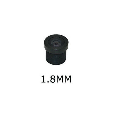"""170 Degree 1.8mm Wide Angle CCTV Lens Camera IR Board Lense for 1/3"""" & 1/4"""" CCD"""