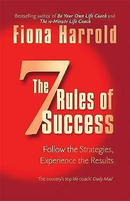 Seven Rules of Success Fiona Harrold Paperback NEW Book Free UK Shipping