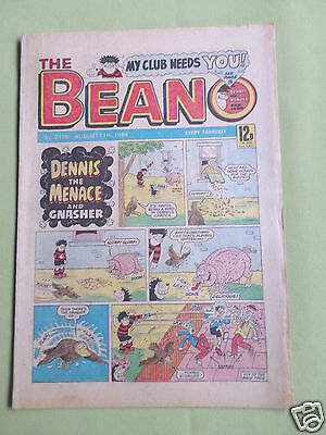 The Beano  - Uk Comic - 11 Aug 1984   - #2195