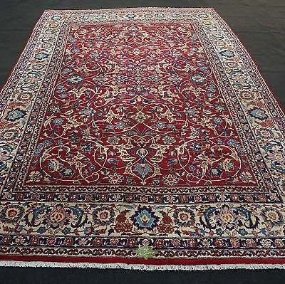 Alter Orient Teppich 360 x 250 cm Perserteppich Rot Antique Old Carpet Rug Tapis