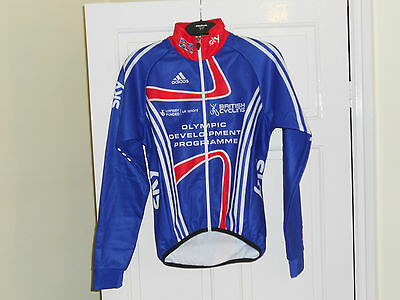 NEW Team GB SKY Olympic ODP Rider Issue cycling bike jacket coat