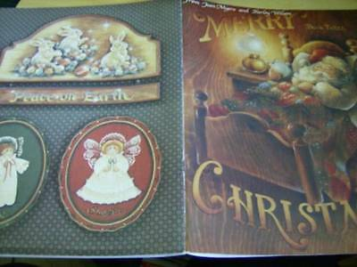 Merry Christmas Painting Book #3 Myers & Wilson Autographed 1st Day Issue