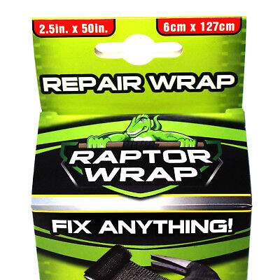 Fishing Rod Repair Kit - Raptor Wrap - Fibreglass Resin Tape - Sets Like Steel