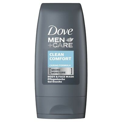 3 x 55ml Dove Men + Care Dusch Clean Comfort Mini