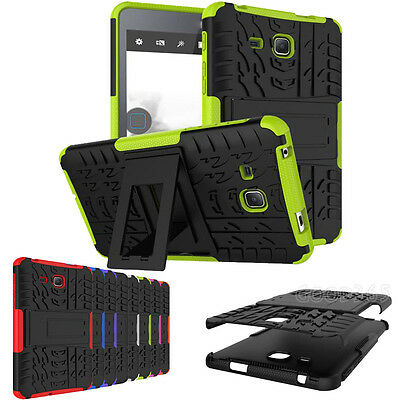Hybrid Kickstand Shockproof Hard Case Cover For Samsung Galaxy Tab A 7inch T280