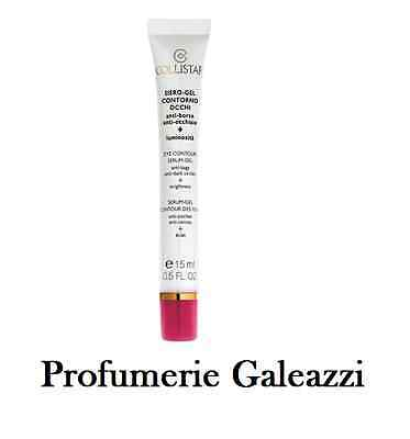 COLLISTAR SIERO-GEL CONTORNO OCCHI ANTI-BORSE ANTI-OCCHIAIE + LUMINOSITA' - 15ml