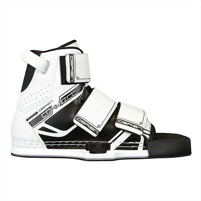 O'BRIEN CONNECT Wakeboard Bindings, UK 7-13, Black White. 51330