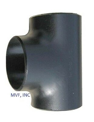 """Tee 1-1/2"""" Schedule 40 (Std) Butt Weld Wpb Carbon Steel Pipe Fitting  B030801"""