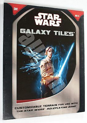 Star Wars d20 RPG & MINIATURES GALAXY TILES 2007 Wizards #SW1 SEALED