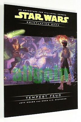 Star Wars d20 ROLEPLAYING GAME TEMPEST FEUD 2002 Wizards