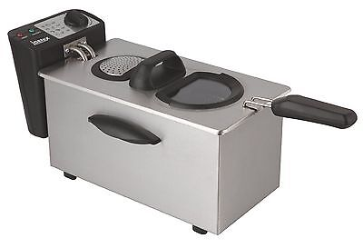 Igenix IG8035 3.5 Litre Stainless Steel Deep Fat Fryer