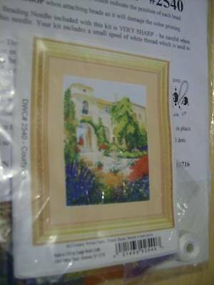 DWC Beaded Courtyard Picture #2540 Craft Sewing Kit