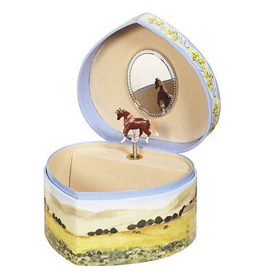Breyer Love of Horses Music Box