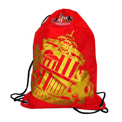04deed74f3a7 Sunderland Afc Football School Sports Gym Kit Drawstring Swim Bag Safc