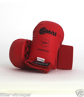 SMAI WKF Gloves SPARRING KARATE World Karate Federation NEW PAIR S M L XL FIGHT