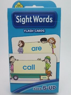 Sight Words Flash Cards Ages 5-Up Learly Learning – Hinkler 77826*