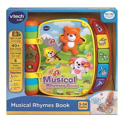 New Vtech - Baby Musical Nursery Rhymes Electronic Book 166703