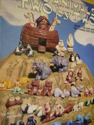 Fimo Animals Two By Two Clay Craft Book -Noah, Ark & Animals By Kris Richards