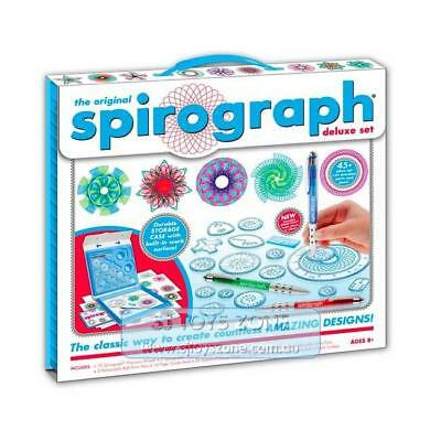 Spirograph Deluxe Box Complete Kit Fun Kids Creative Drawing Activity For Young