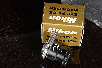 Unused In Box Vintage Nikon F2 Accessory  Eye Piece Magnifier ( As Later Dg-2)