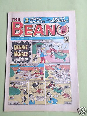 The Beano  - Uk Comic - 26 May 1984  - #2184