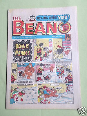 The Beano  - Uk Comic - 8 Dec 1984  - # 2212