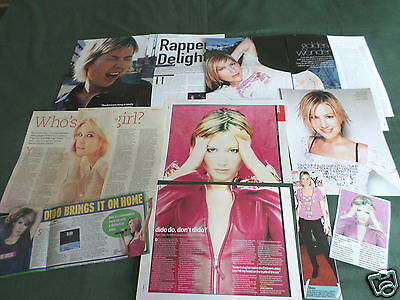 Dido -  Pop Music- Clippings /cuttings Pack