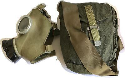 Eastern Bloc soviet  army surplus gas mask, filter and bag - NEW/OLD stock