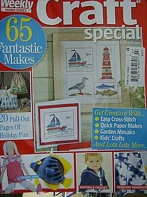 Woman's Weekly Craft Special Magazine J/A 2011- 65 Projects- Toys, Cross Stitch,