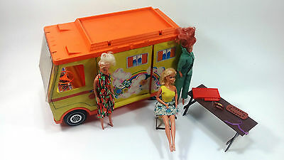 Barbie Mixed LOT, 1973 Barbie Trailer, Vintage 1966 Barbie Doll, and More!