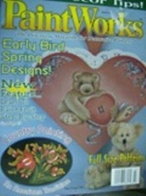 Paint Works Magazine March 1997 Country, Fruit, Bears