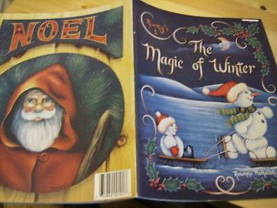 Rocky's Magic Of Winter Painting Book #1 -Puchalski Autographed, Holly, Gingerbr