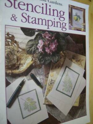 Better Homes & Gardens Stenciling & Stamping Book -Basics & Projects