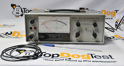 FW Bell 610 Gaussmeter With SAB1-1808 Probe Sensor, Tested with 30 Day Warranty