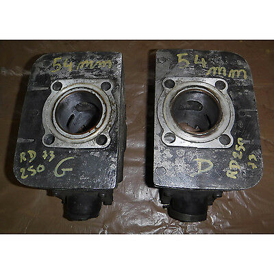 Cylinder Left & Right Yamaha RD250 RD 250 1973 73 54 mm