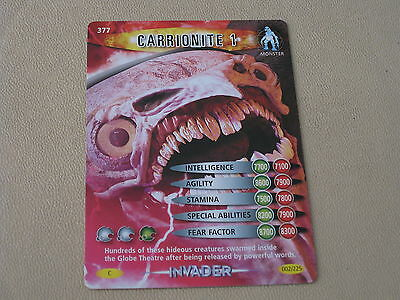 DR WHO INVADER CARD 457 SCARECROW 1 MINT !!
