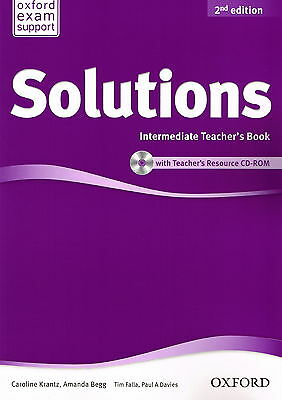 Oxford SOLUTIONS Intermediate Teacher's Book w Resource CD-ROM 2nd Edition @NEW@