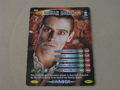 Doctor Who Battles In Time - Human Dalek 1 Card (455)