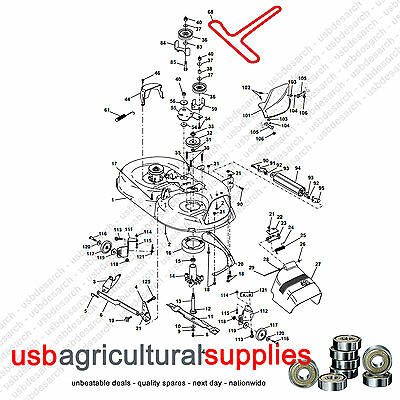 Kubota Tractor Wiring Diagram besides Craftsman Dyt 4000 Wiring Diagram besides Husqvarna Transmission Deck Drive Belt Set Fits 42 Decks Cth150 Cth160 Cth170 Cth172 Cth180 Cth182t Cth191 Cth192 Cth200 Cth210 Cth220 Cth2036 145 P furthermore Murray 12 5 Riding Lawn Mower 399097 besides OMM152793 H412. on john deere mower deck belt routing