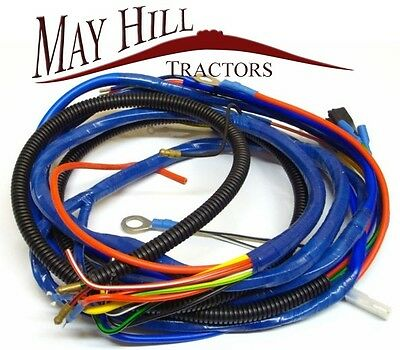 Fordson Major Tractor Wiring Loom, Harness - #804