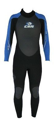 CSR by Crewsaver Extreme Mens 53 Steamer Full Length Wetsuit ( Blue )