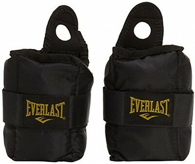 Everlast Men's Pair of Ankle Weights - Black, 5 Lb