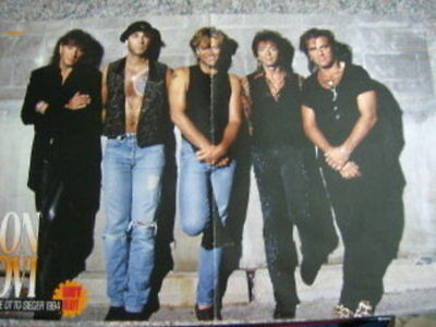 "Bon Jovi German Clippings ""F"" + Posters"