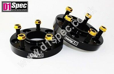 D1 SPEC FORGED WHEEL SPACERS 20mm 5x114.3 67.1 BLACK MAZDA 3 6 MX5 RX7 RX8 CX5