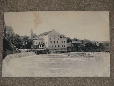The Dam & the Mill Painseville Ohio, Early 1900`s