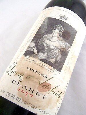 1970 WOODLEY WINES Queen Adelaide Red Blend C Isle of Wine