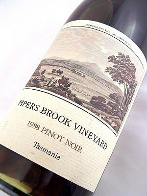 1988 PIPERS BROOK Vineyard Pinot Noir B Isle of Wine
